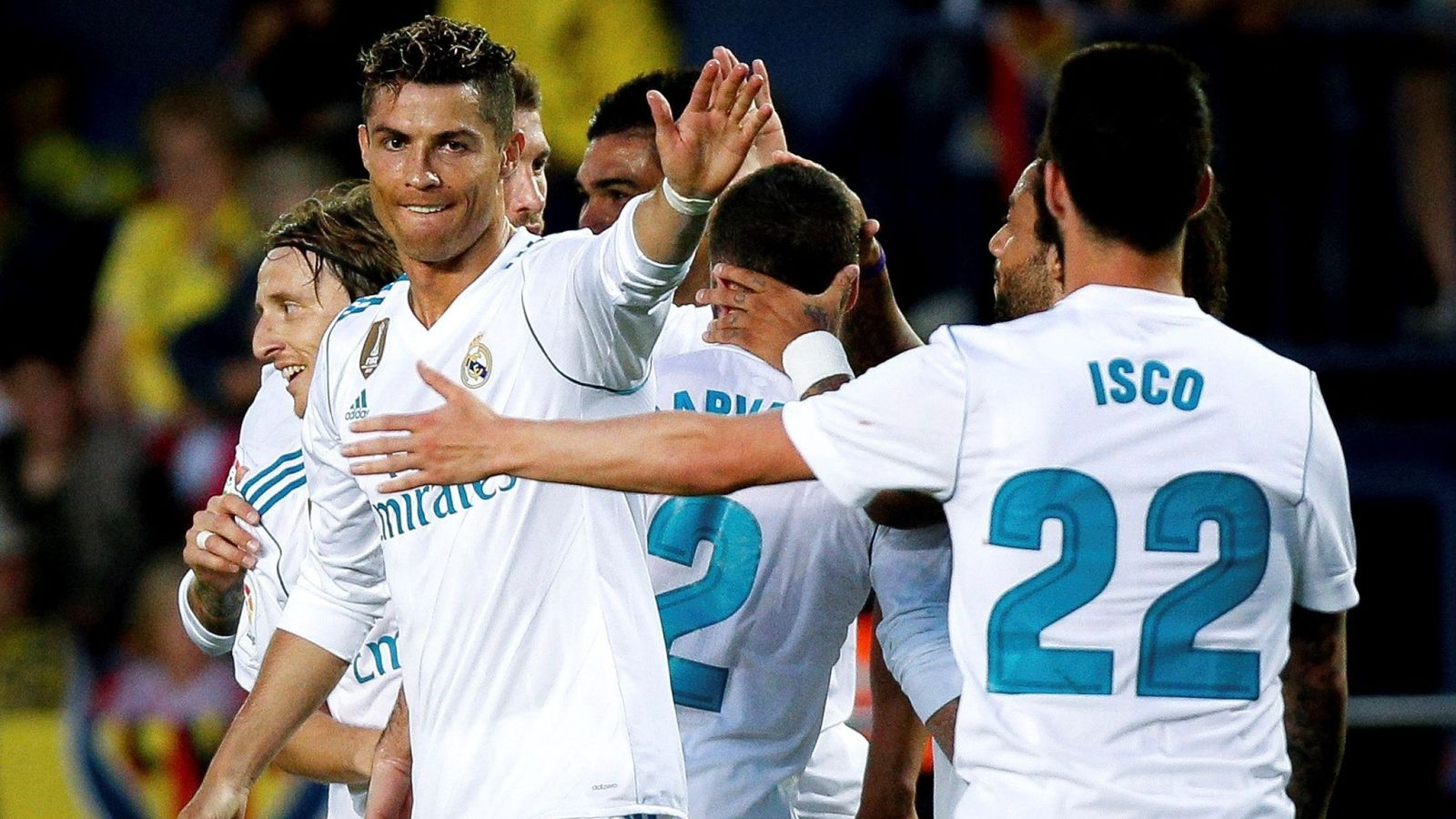 Foto: Cristiano Ronaldo, en el último partido liguero. (EFE)