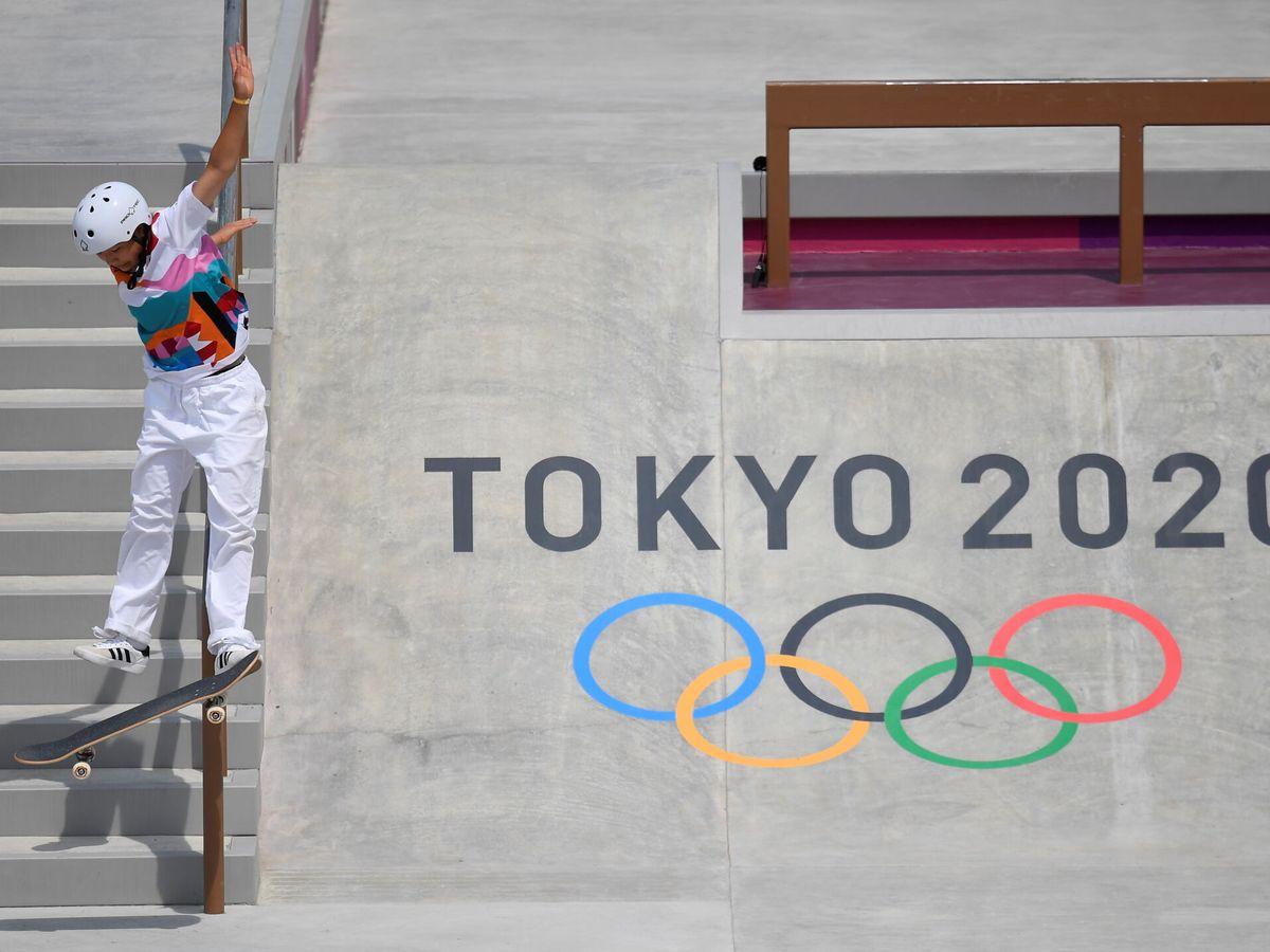 Foto: El 'skateboarding' se estrena en Tokio 2020. (Reuters)