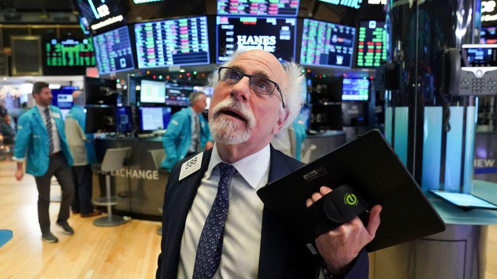Foto: Un 'trader', en la Bolsa de Nueva York. (Reuters)