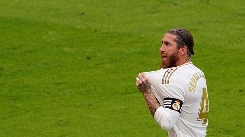 Sergio Ramos, capitán y pichichi, coloca al Real Madrid a un paso de ganar la Liga
