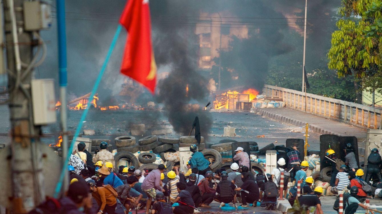 Mango valora cortar pedidos a Myanmar tras el 'putsch' e Inditex sigue el caso con preocupación