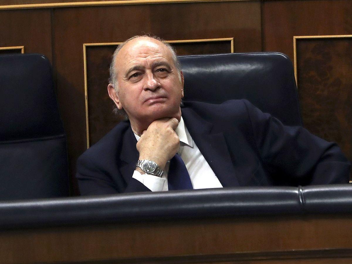 Foto: Fotografía de archivo del 18 de octubre de 2016 del exministro del Interior Jorge Fernández Díaz. (EFE)