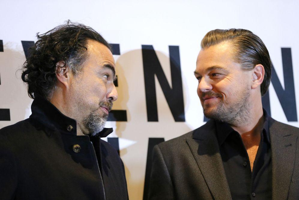 Foto: Iñárritu y Di Caprio (EFE)