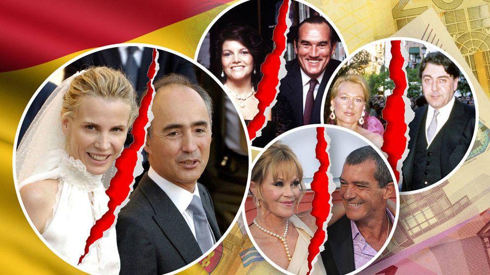 Del Pino, Fernández Tapias o Koplowitz: los siete divorcios más caros de España