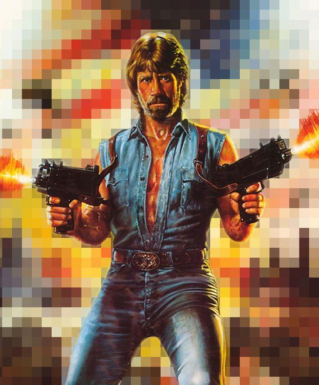 Foto: Chuck Norris, en 'Invasión USA'.