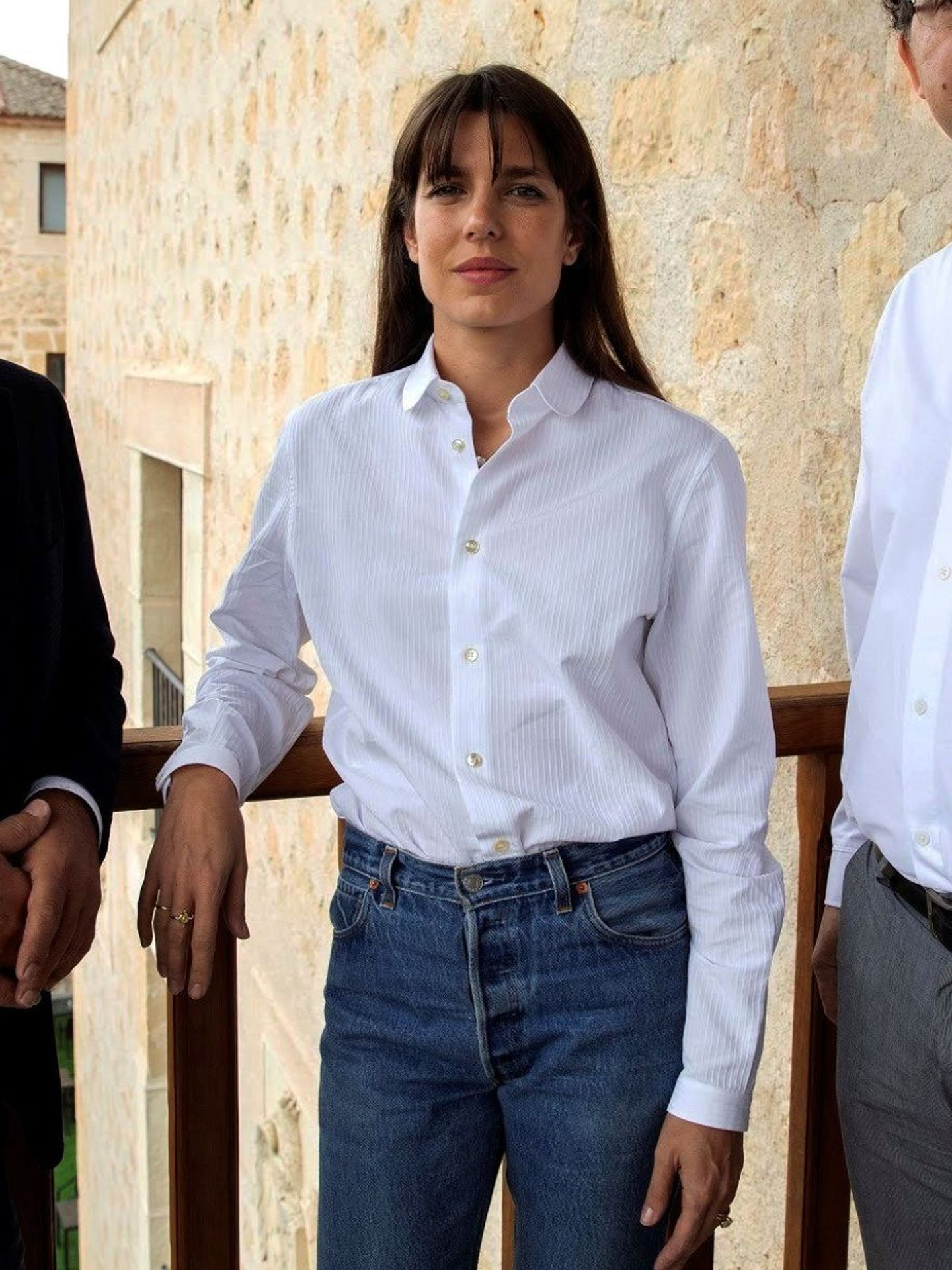 Carlota Casiraghi, en el Hay Festival de Segovia. (Getty)