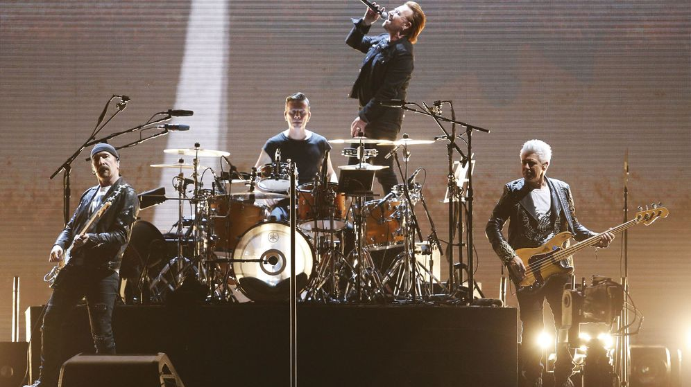 Foto: U2 actúan en el Palacio de los Deportes de Madrid el 20 y 21 de septiembre (EFE)