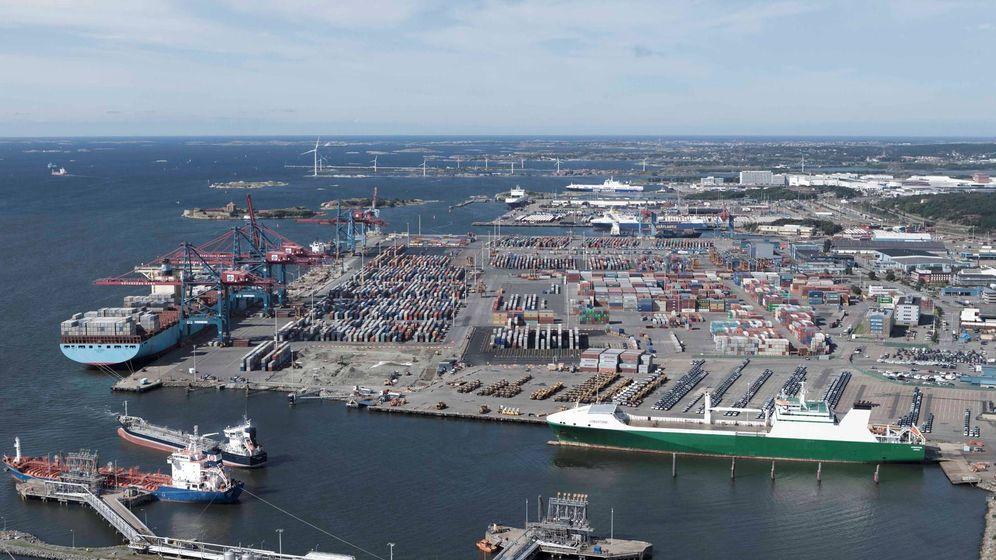 Foto: El puerto de Gotemburgo. (megaconstrucciones.net)