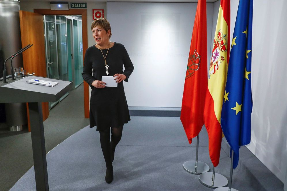 Foto: La presidenta de Navarra, Uxue Barkos, (EFE)