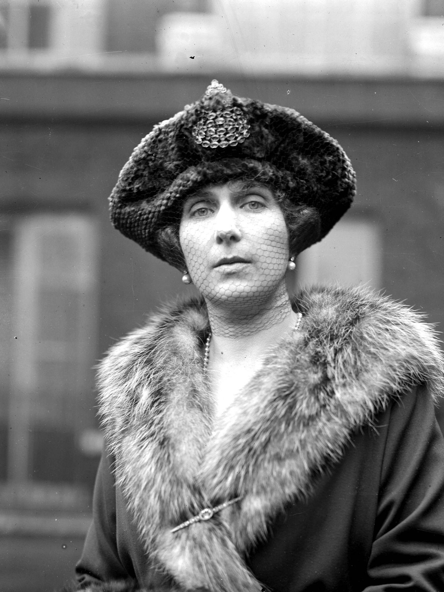 La reina Victoria Eugenia, en 1920. (Cordon Press)