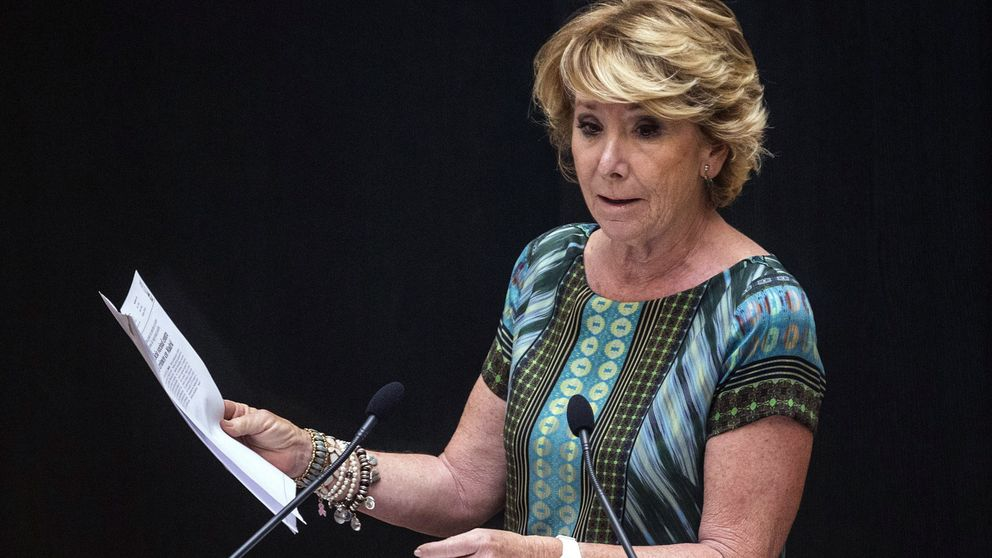 Esperanza Aguirre: Pedro Sánchez tiene el poder de derrocar al Gobierno