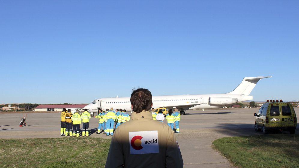 Foto: Avión con ayuda humanitaria que se envió a Filipinas en 2013. (EFE)
