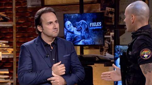 Iker Jiménez, en shock y sin palabras en Cuatro por lo sucedido con un policía
