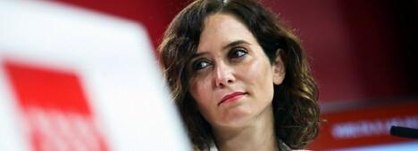 Foto de La presidenta baja el pistón ante su grupo: Ayudaré a Pablo a llegar a Moncloa