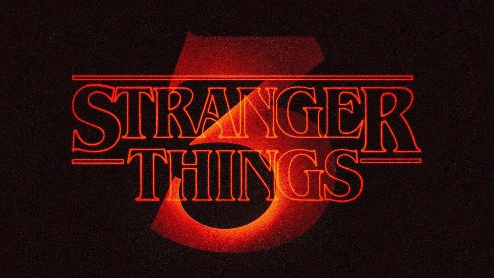 Foto: Logotipo de 'Stranger Things'. (Netflix)