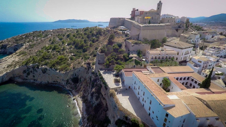 La ciudad vieja de Ibiza. (Foto: Hotel Mirador Dalt Vila)