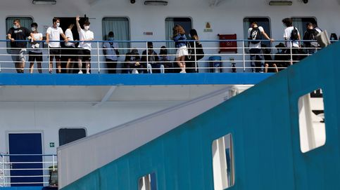 Cuatro positivos de estudiantes trasladados a Madrid en 'ferry burbuja' desde Baleares
