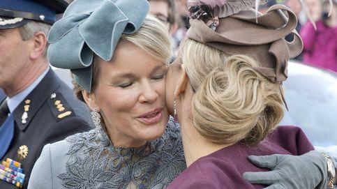 Máxima de Holanda y Matilde de Bélgica, juntas en una visita de Estado