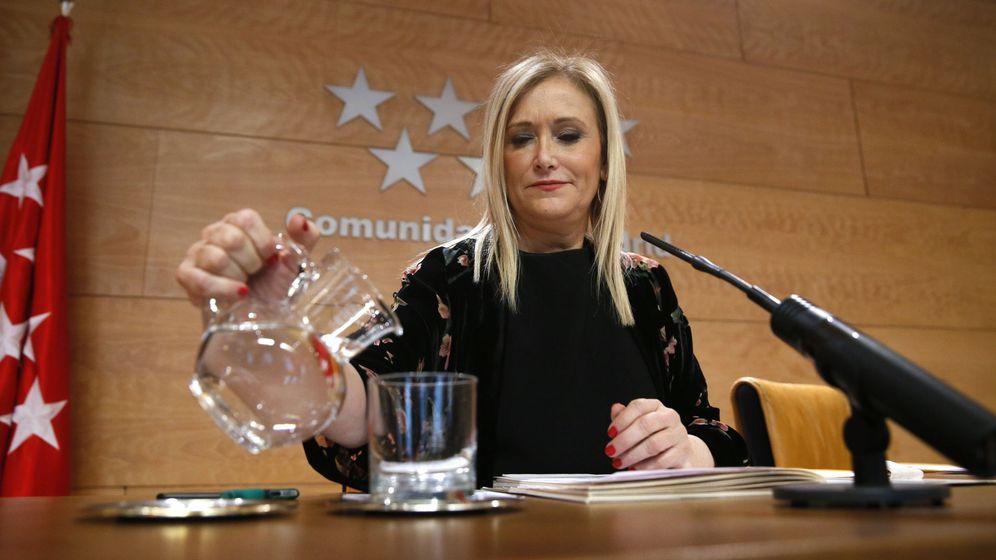 Foto: La presidenta regional, Cristina Cifuentes, en una imagen de archivo. (EFE)