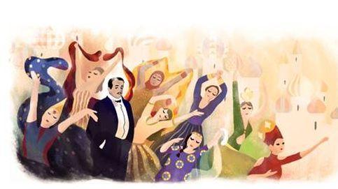 Sergei Diaghilev, el impulsor de los Ballets Rusos que 'danza' en Google