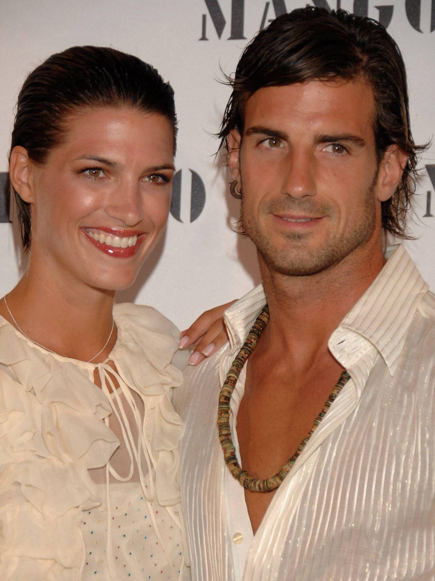 Laura y Aitor, en 2007. (Getty)