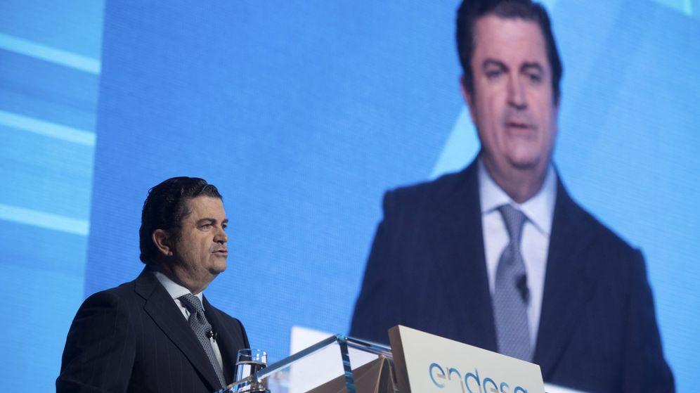 Foto:  El presidente de Endesa, Borja Prado