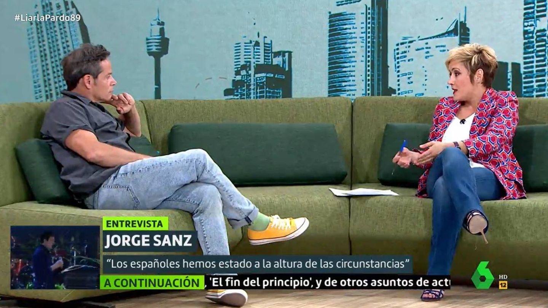 Jorge Sanz, en 'Liarla Pardo'. (Atresmedia)