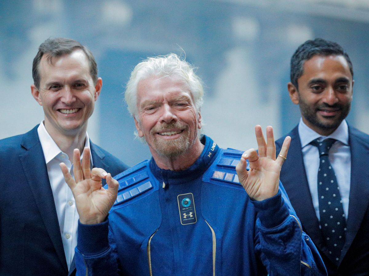 Foto: Richard Branson. (Reuters)