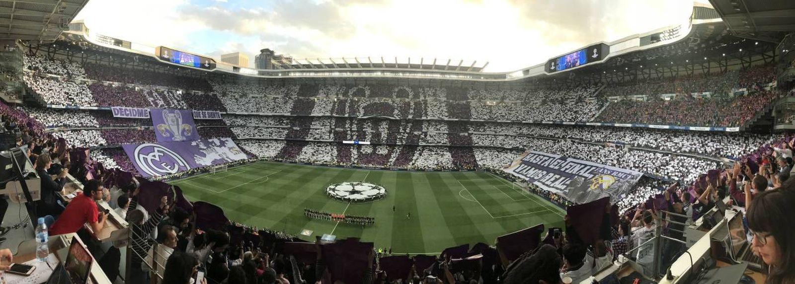 Foto: Panorámica del Santiago Bernabéu. (Foto de El Confidencial)