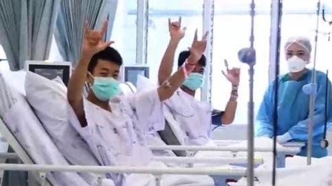 Felices y sonrientes: así se recuperan en el hospital los niños de Tailandia