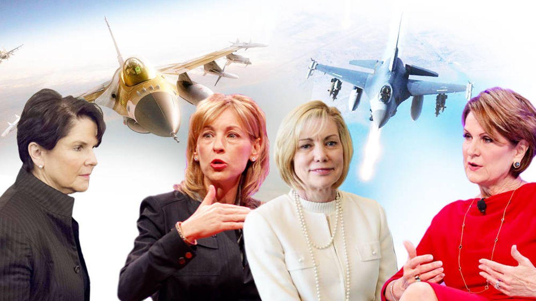 Las mujeres encargadas de fortalecer la maquinaria bélica más letal del mundo