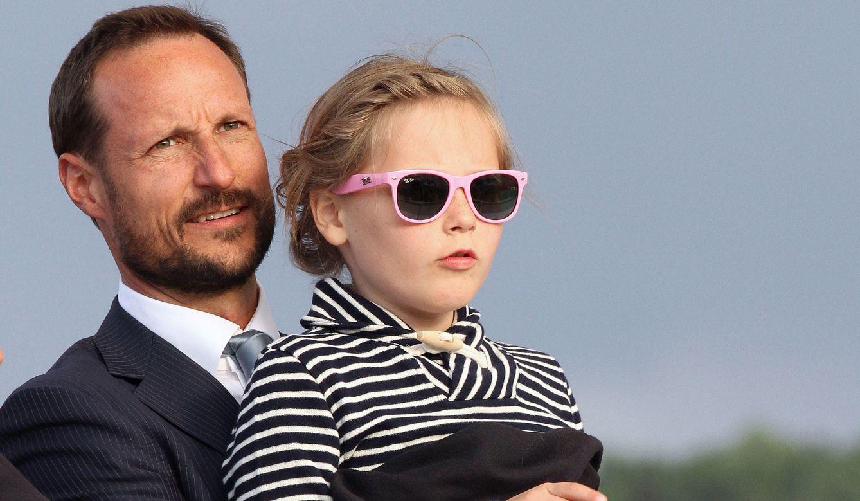 Foto: El príncipe Haakon con su hija Ingrid (Gtres)