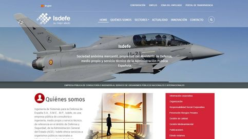 Isdefe, la mayor empresa de Defensa, coto de los nombramientos a dedo: 132 solo este año