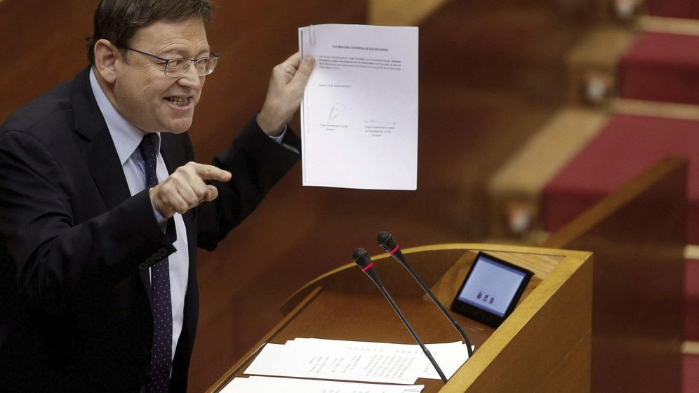 Foto: El president de la Generalitat valenciana, Ximo Puig. (EFE)