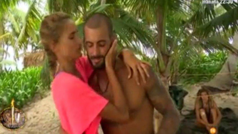 Alba e Iván en 'Supervivientes'.