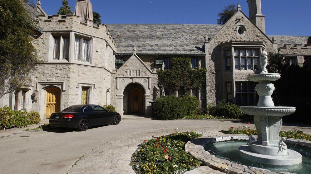 Foto: La entrada a la mansión Playboy, en Los Angeles