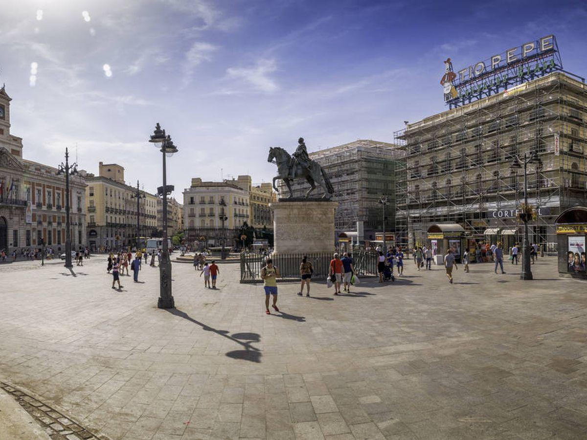 Foto: Puerta del Sol, Madrid.