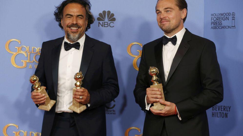 Foto: Iñárritu junto a Leonardo DiCaprio. (Reuters)