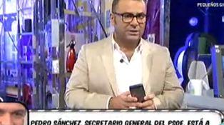 La TV y los políticos o por qué Pedro Sánchez llamó a Jorge Javier