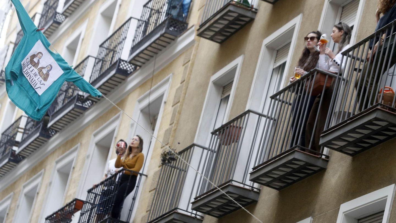 Madrid, en abril. (EFE)
