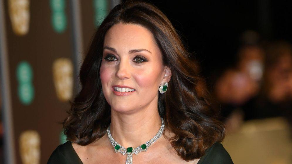 Foto: Kate Middleton se salta el código de color de Time's Up en los BAFTA 2018