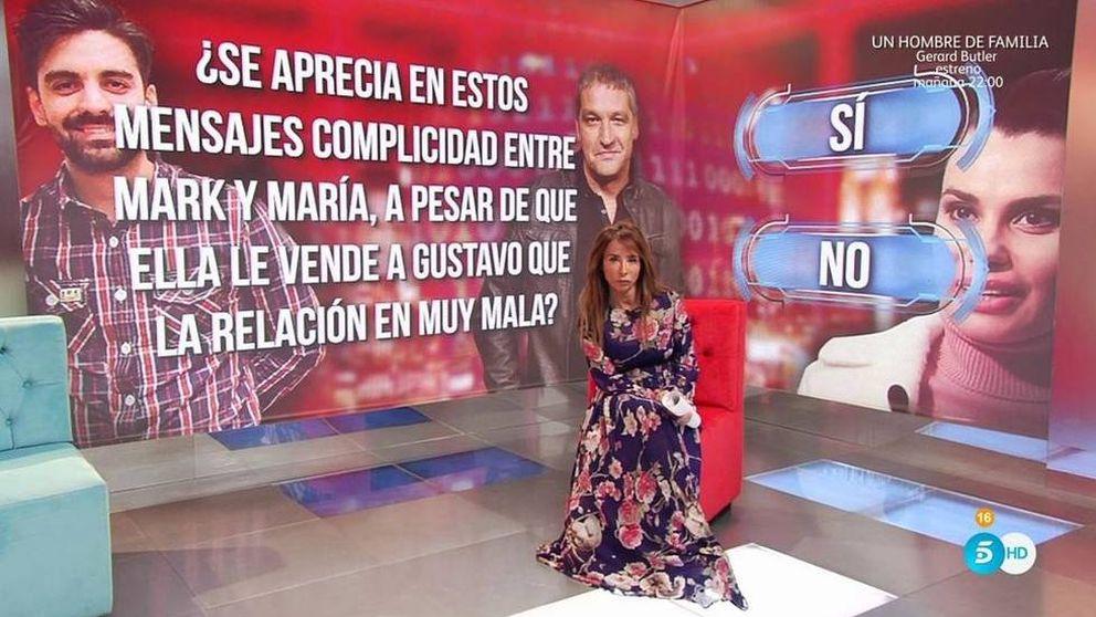 María Patiño desvela los comprometidos mensajes de Mark y Lapiedra
