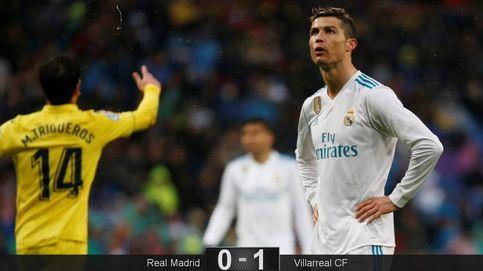 El Real Madrid sigue su naufragio contra el Villarreal y Zidane aún no reacciona