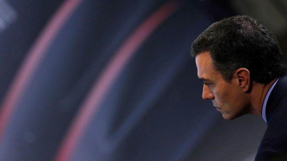 Foto: El presidente del Gobierno en funciones, Pedro Sánchez, en un acto en Madrid. (EFE)
