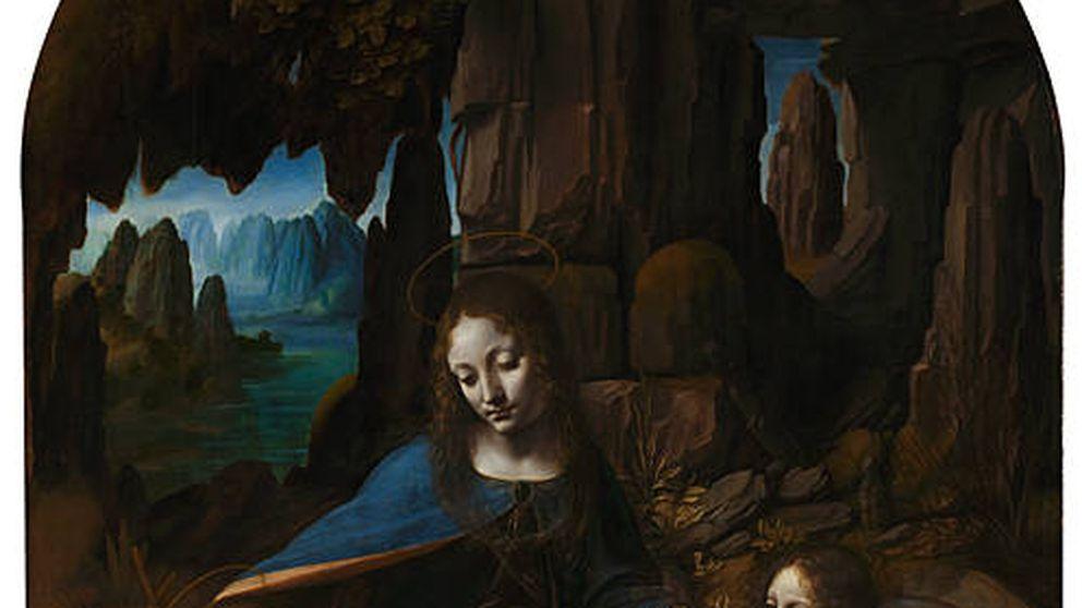 Lo que los rayos X revelan de Leonardo Da Vinci: el boceto bajo 'La Virgen de las Rocas'