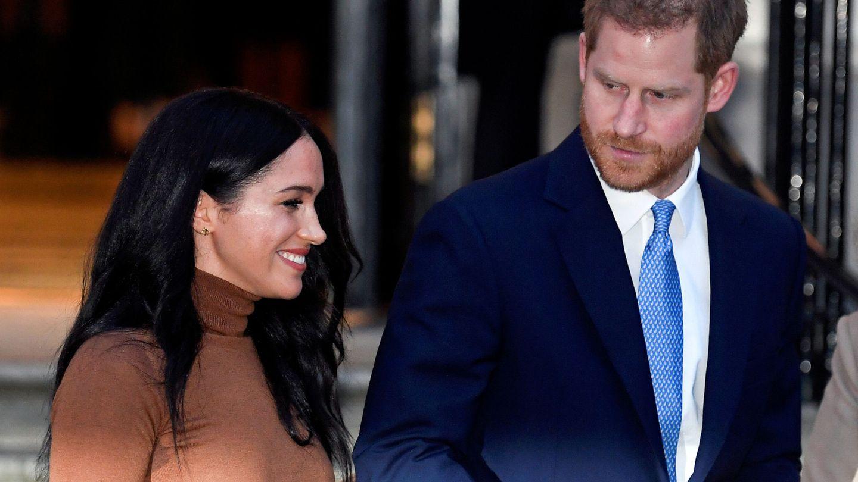 Meghan y Harry, el pasado martes en Londres. (Reuters)