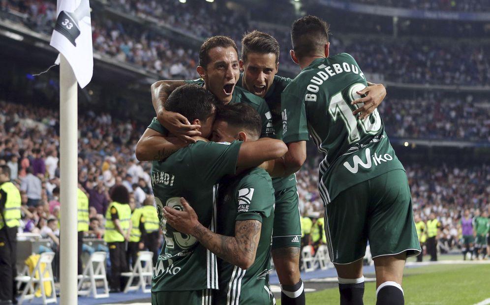 Foto: El Betis ganó en el Bernabéu en la primera vuelta. (EFE)