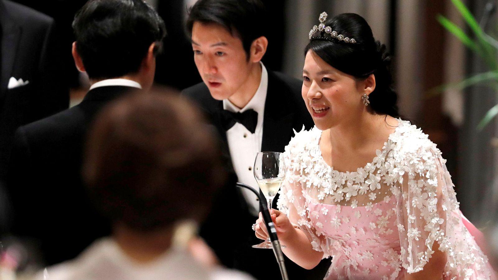 Foto: Ayako y su esposo. (Reuters)