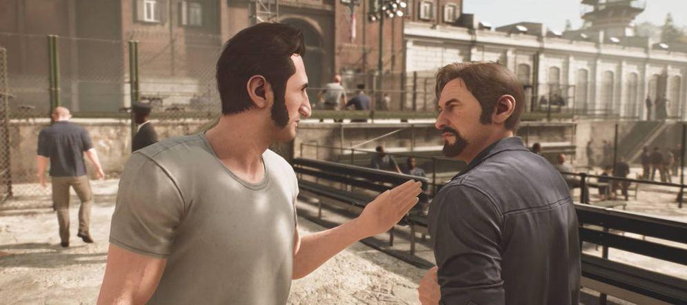 Foto: No es Manolo Escobar sino uno de los protagonistas de A Way Out. (Electronic Arts)