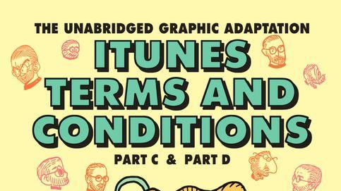 La letra pequeña de Apple inspira un surrealista cómic de 100 páginas